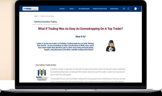 SafeDay Trading Program